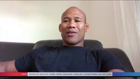 Ronaldo Jacaré diz que gostaria de estar no card do UFC Pará e pede luta contra Weidman