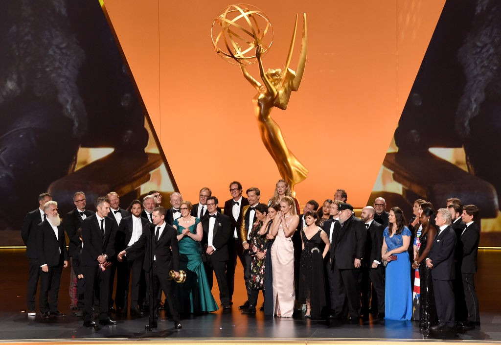 Elenco de Game of Thrones, vencedor do Emmy 2019 (Foto: Reprodução Getty Images)