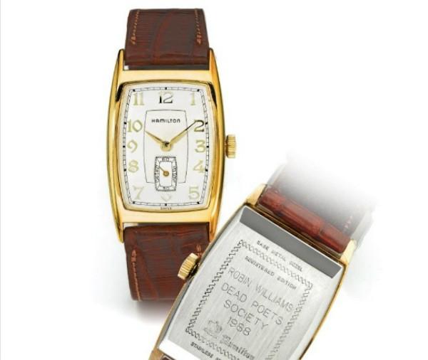 2e6bcea630c Relógio do filme Sociedade dos Poetas Mortos que pertencia a Robin Williams  (Foto  Reprodução