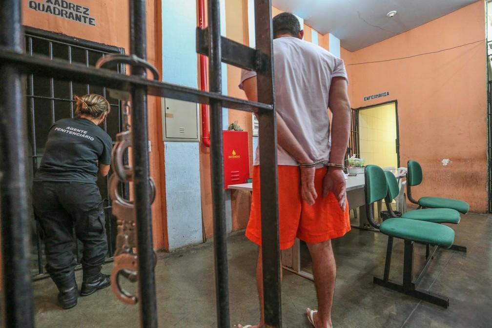 Audiências de custódia são apontadas como um dos fatores para a diminuição de presos sem condenação no sistema prisional — Foto: Natinho Rodrigues/TV Verdes Mares