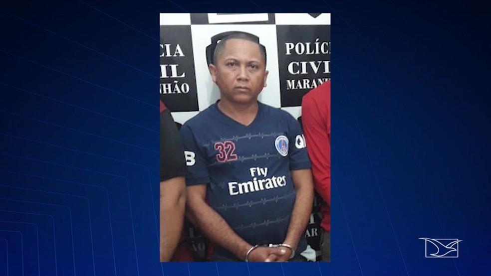 Carlos Alberto dos Santos estava foragido da justiça há um tempo e vivia normalmente nos estados do Piauí e do Maranhão (Foto: Reprodução/ TV Mirante)