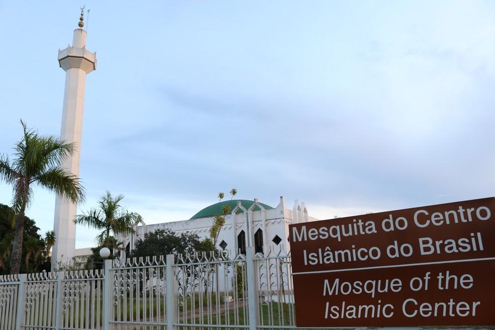 Mesquita em Brasília, na Asa Norte — Foto: Abdul Rashid/Arquivo pessoal