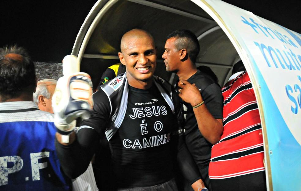 Tiago Cardoso tem currículo recheado de taças no Santa Cruz — Foto: Aldo Carneiro/Pernambuco Press