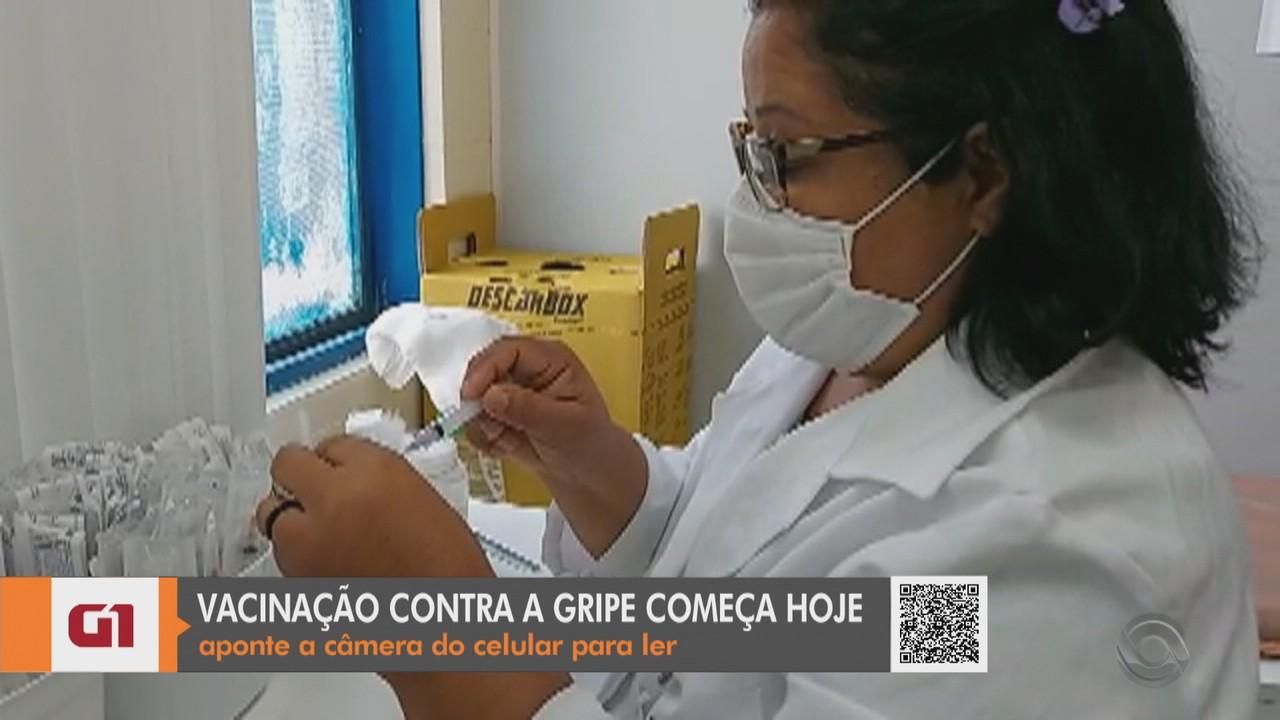 Santa Cruz do Sul inicia vacinação contra a gripe