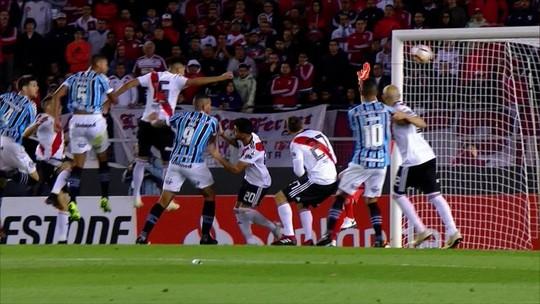 Veja os melhores momentos da vitória do Grêmio sobre o River Plate
