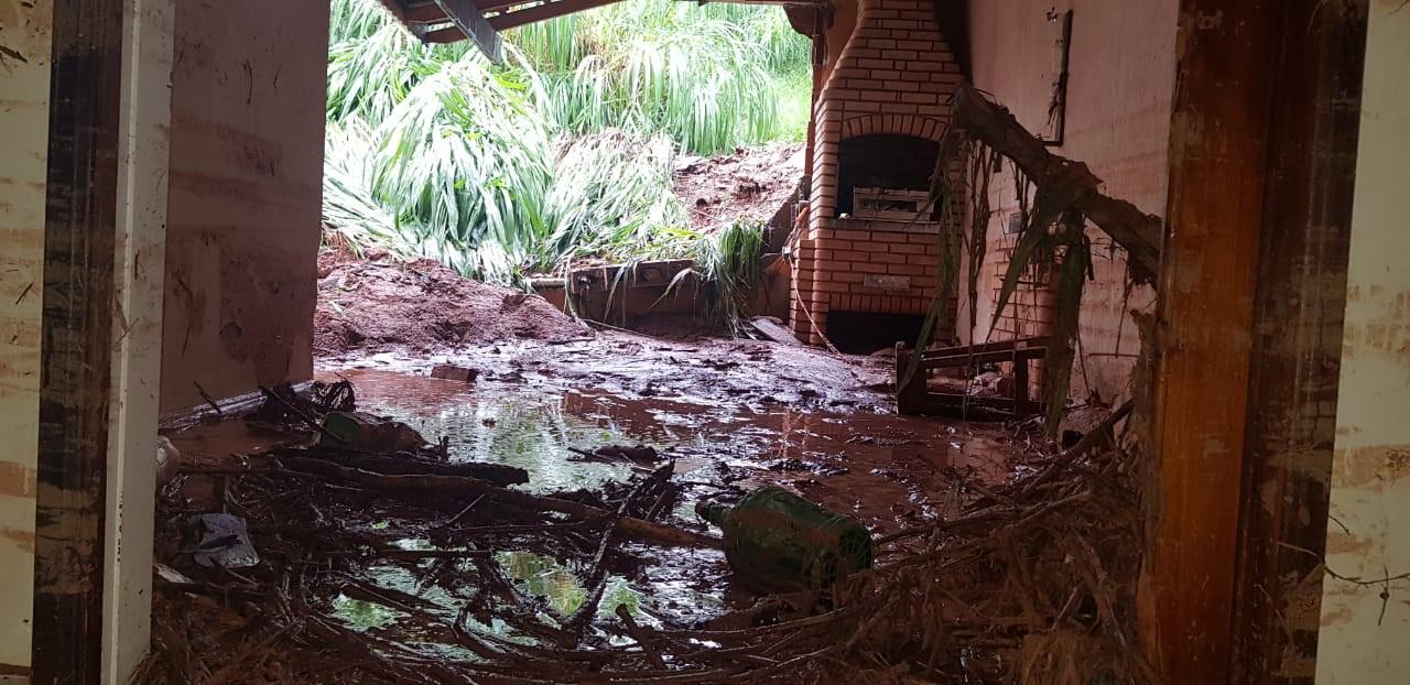 Volume de chuva passou dos 130 mm no fim de semana em Jundiaí, diz Defesa Civil