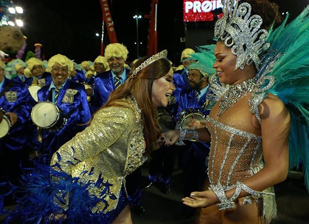 Juliana Alves e Marisa Orth (Foto: Agnews)