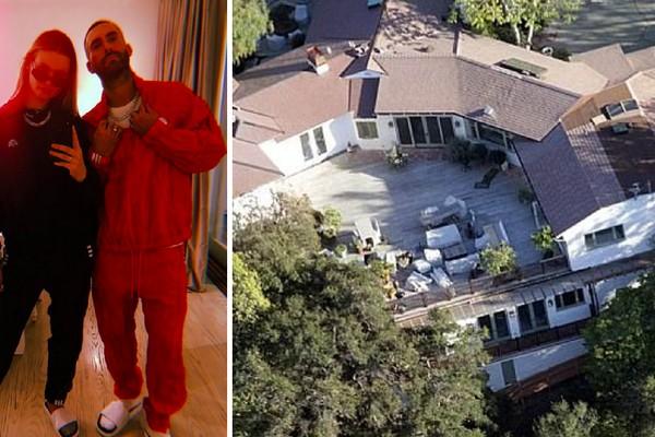 A casa vendida pelo ator Ben Affleck e pela atriz Jennifer Garner ao casal composto pelo músico Adam Levine e pela modelo Behati Prinsloo (Foto: Instagram/Divulgação)