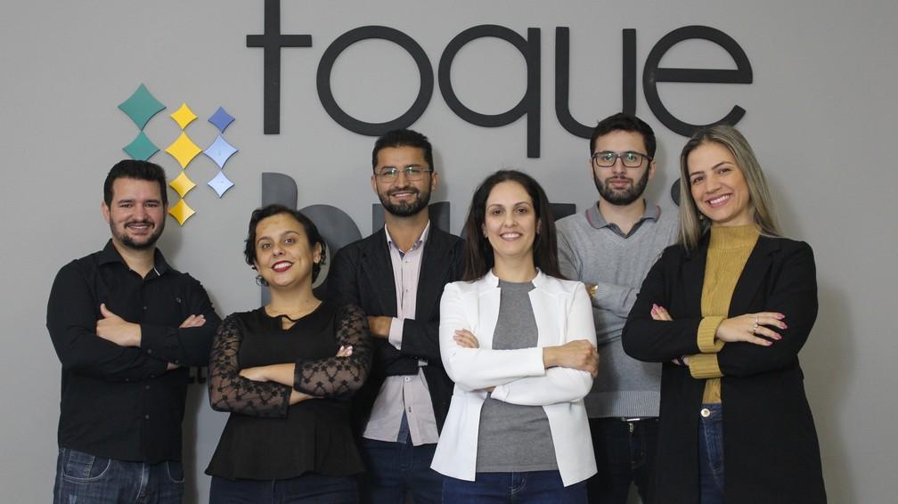 Equipe Toque Final, uma das apoiadoras do projeto que criou a marca própria de Juruaia (MG) — Foto: Divulgação/GMinas Produtora Audiovisual