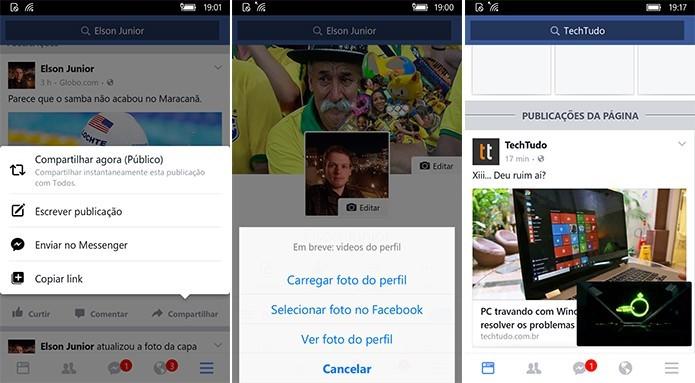 Facebook ganha app oficial no Windows 10 Mobile