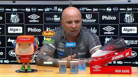 Sampaoli defende Everson depois de pedidos da torcida do Santos por Vanderlei