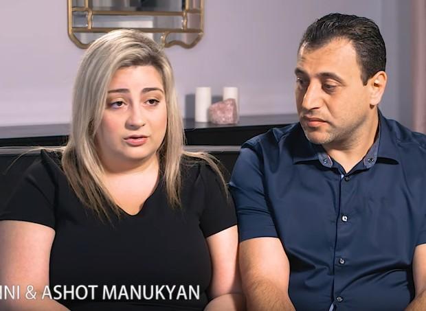 O casal Anni e Ashot contam o pesadelo que viveram (Foto: Reprodução/YouTube)