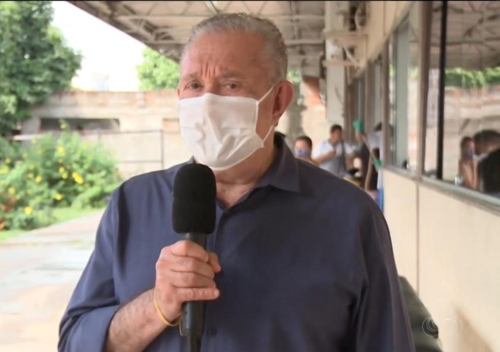 Eduardo Monteiro, presidente do CRM-AP — Foto: Rede Amazônica/Reprodução