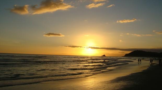 Praia de Juquehy, no litoral norte do estado de São Paulo (Foto: Reprodução/Wikimedia Commons)