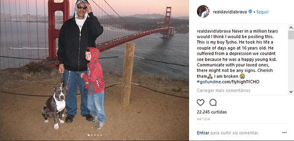 David Labrava e Tycho (Foto: Instagram)
