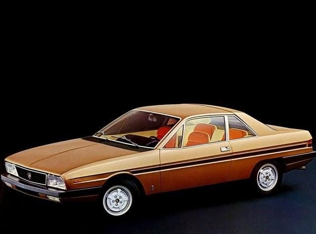 Lancia Gamma Coupe 1977