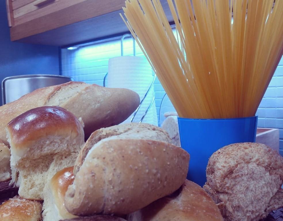 Pão ou macarrão: qual escolher? (Foto: Mariana Garcia/G1)