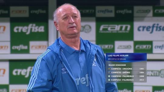 """Cereto elogia Felipão e Mano Menezes na Copa do Brasil: """"Têm o perfil desta competição"""""""