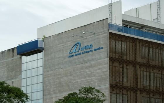 Fachada do prédio da Associação Nacional de Transportes Aquaviários (Antaq) (Foto: Divulgação/ ANTAQ)