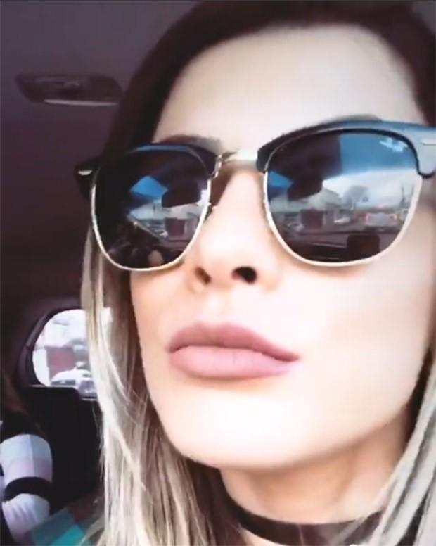 Babi Rossi mostra o resultado do preenchimento labial (Foto: Reprodução/Instagram)