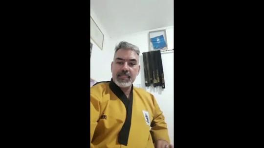 Ex-seleção brasileira de taekwondo, Mestre Carlos Costa, ministrará palestra em Porto Velho