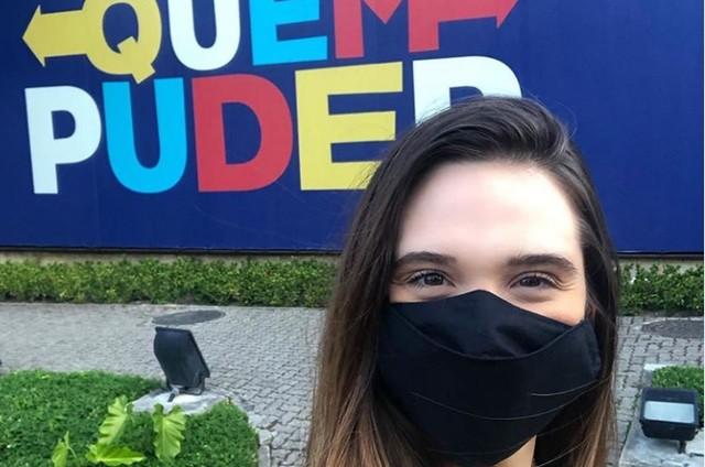 Juliana Paiva em 'Salve-se quem puder' (Foto: Reprodução)