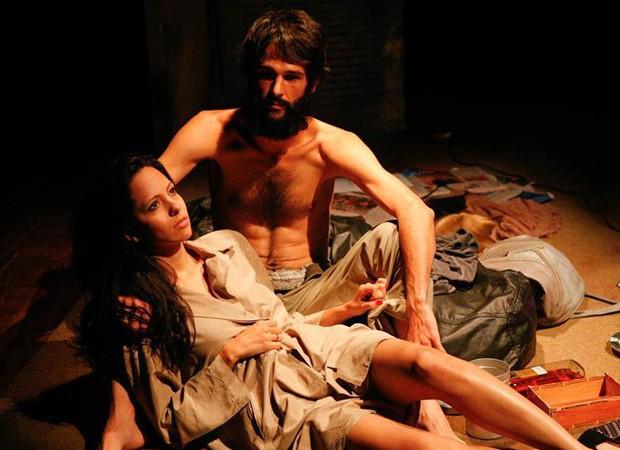 Atores Rodrigo Rosado e Silvana D'lacoc  (Foto: Foto:  Divulgação)