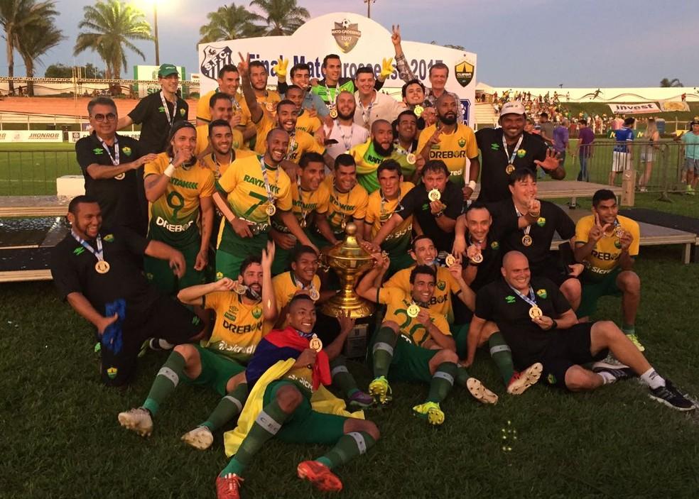 Cuiabá venceu o Sinop na decisão do Mato-grossense 2017 (Foto: Assessoria/CuiabáEC)
