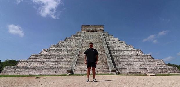 Youtuber visita as Sete Maravilhas do Mundo em uma semana (Foto: Reprodução/Instagram)