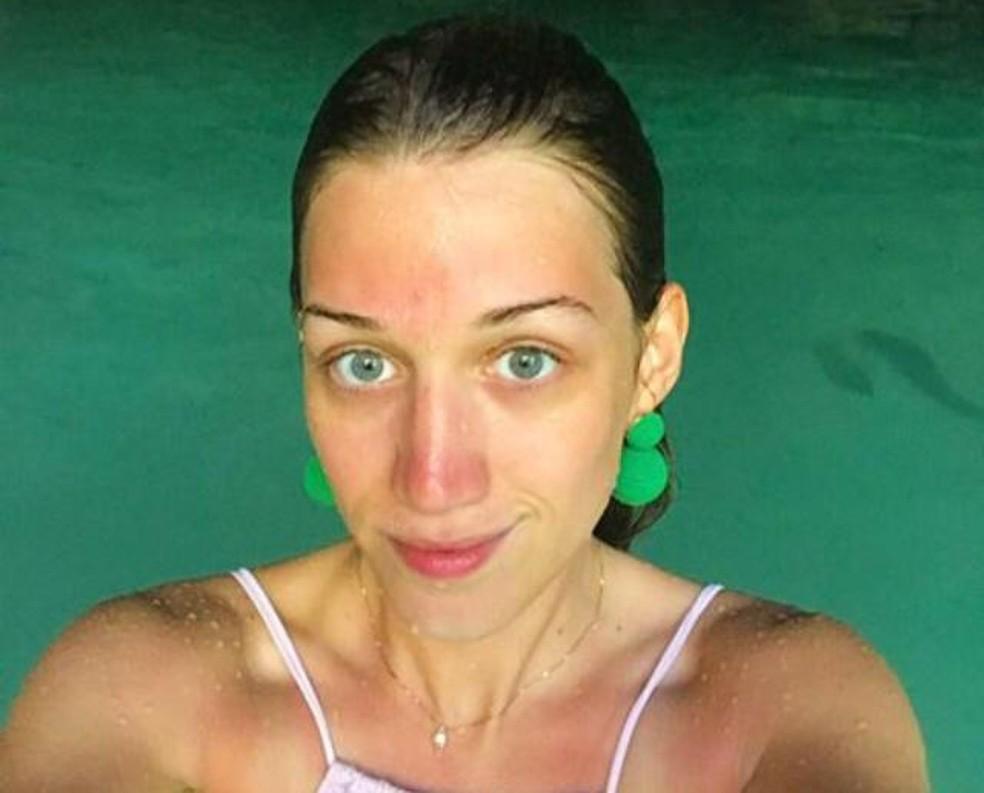 Namorada de Dario Messer, Myra Athayde, fez várias viagens ao Paraguai — Foto: Reprodução