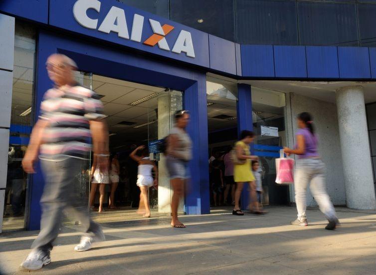 Agência da Caixa (Foto: Tânia Rego/Arquivo Agência Brasil )