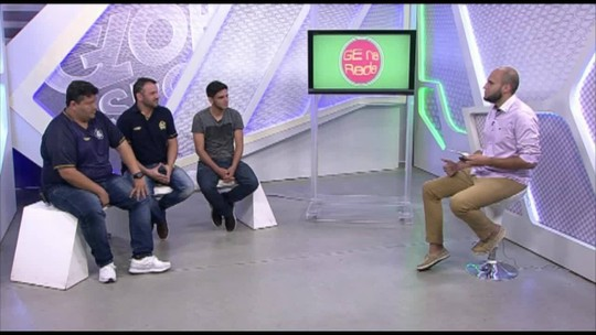 GE na Rede recebe diretor do Baenão, atleta de MMA e debate a situação de Leão, Papão, Pantera e Tubarão no Brasileiro
