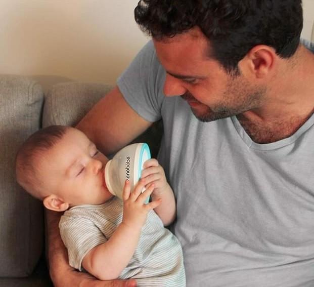 O criador da tecnologia junto de seu filho, Daniel (Foto: Divulgação)