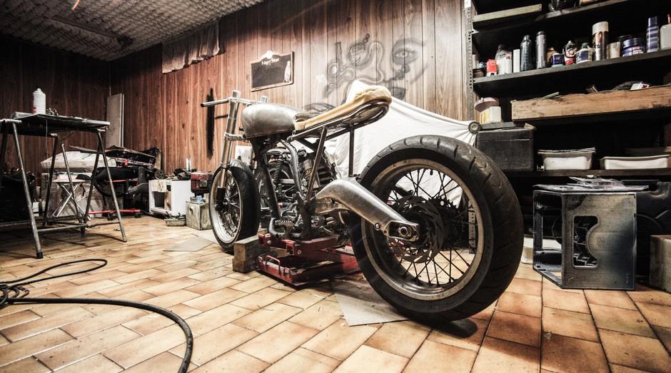 motocicleta, moto, oficina, garagem (Foto: Reprodução/Pexels)