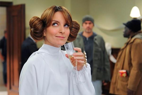 Tina Fey vestida como princesa Leia (Foto: divulgação)