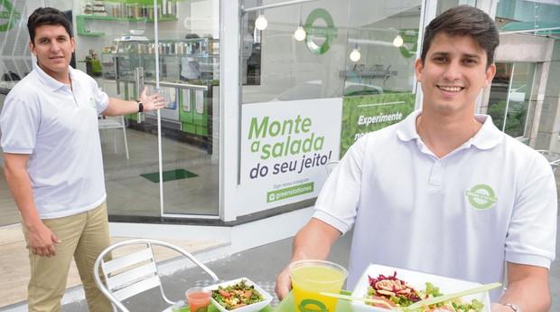 Vinicius Loyola e Taiguara Moura: amigos montaram a Green Station (Foto: Divulgação)