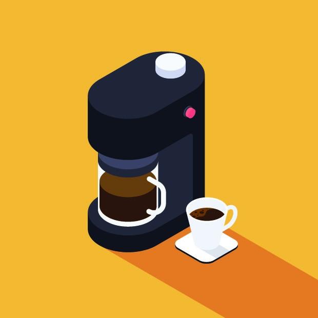 Ilustração de Cafeteira (Foto: Thinkstock)