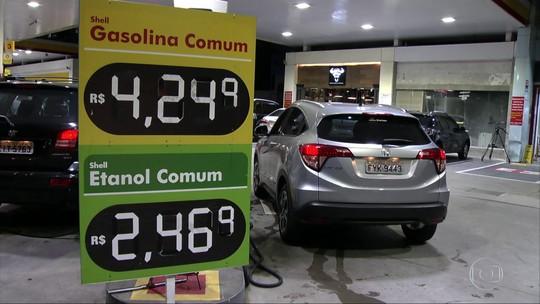 Pela primeira vez a venda de etanol empata com a da gasolina