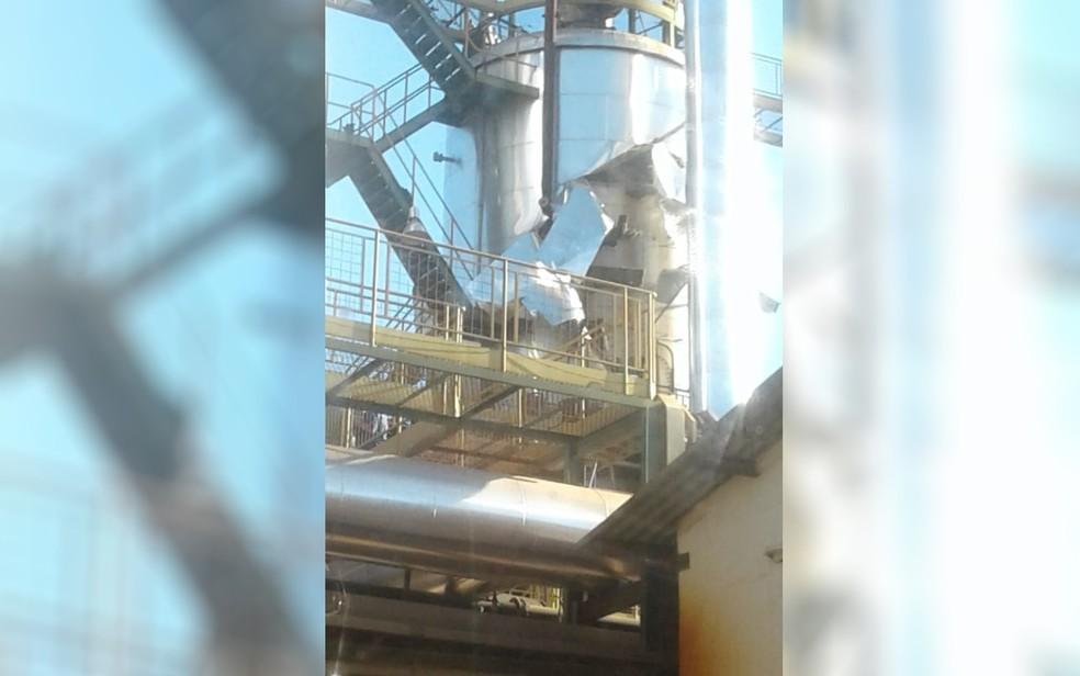 Segundo delegado, explosão teria ocorrido em uma caldeira (Foto: Arquivo pessoal)