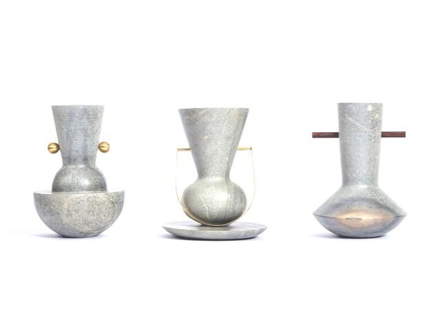 Vasos ITÁ, de Marcelo Alvarenga e Susana Bastos para ALVA Design (Foto: Studio Tertulia/Divulgação)