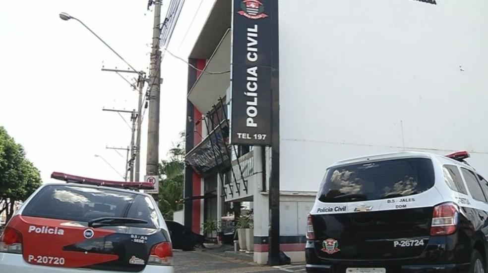 Polícia Civil de Jales (SP) está acompanhando o caso (Foto: Reprodução/TV TEM)
