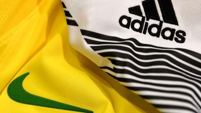 Nike e Adidas travam uma disputa biolionária na Copa do Mundo e deixam de ter exposição de suas marcas com saída prematura de estrelas da Copa na Rússia  (Foto: Getty Images via BBC)