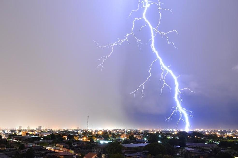 Chuvas devem predominar em Porto Velho e no restante do estad até a próxima segunda-feira (14).  — Foto: Ronaldo Filho/Arquivo pessoal