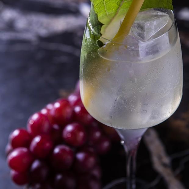 Um drink chamado Uva (Foto: divulgação)