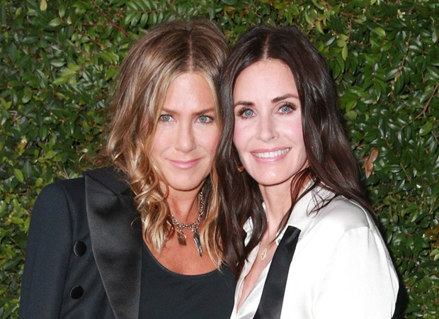Jennifer Aniston e Courteney Cox (Foto: Getty Images)
