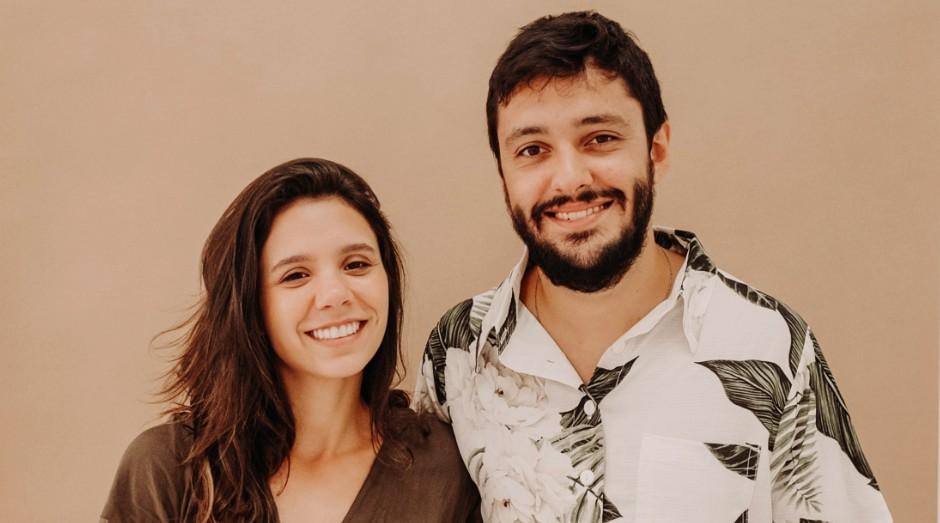 Heitor Carneiro e Louise Serrano fundadores da MUDI (Foto: Divulgação)