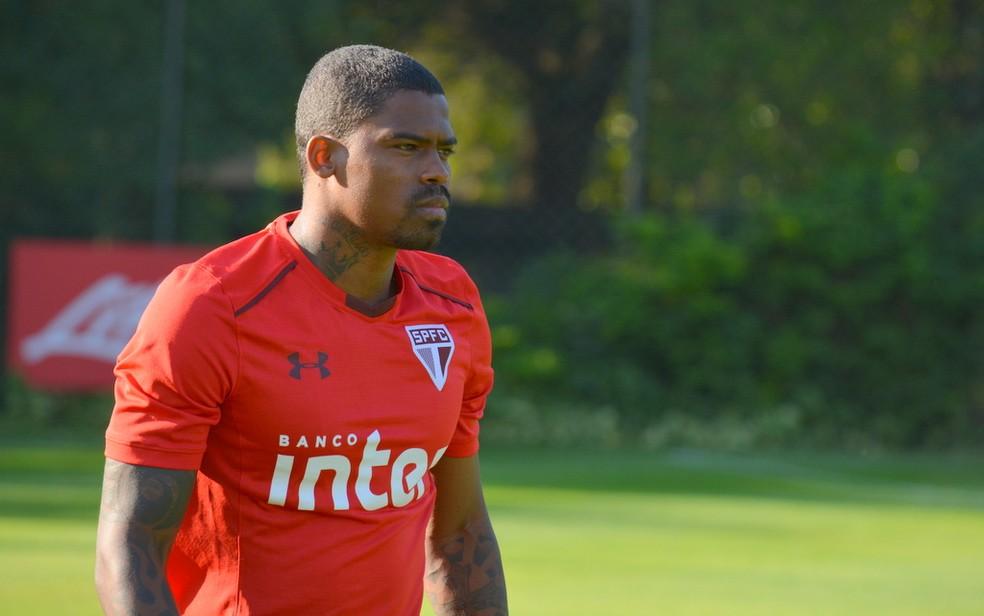 Maicosuel passou a maior parte do tempo desde que chegou ao São Paulo longe do time (Foto: Érico Leonan / site oficial do SPFC)