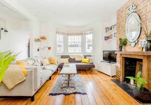 Casa em Londres, disponível para aluguel pelo Airbnb (Foto: Divulgação)