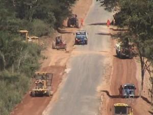 BR-425, em Guajará-Mirim, RO (Foto: Reprodução/TV Rondônia)