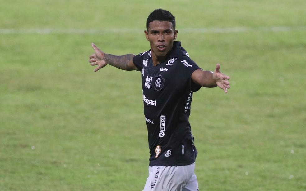 Dioguinho foi o artilheiro do Remo no Parazão com seis gols — Foto: Samara Miranda/Ascom Remo